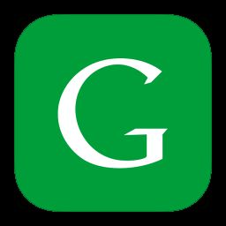 Big G icon of Google