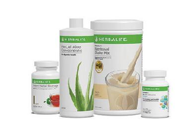 herbalife product range