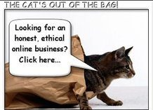 Cat Out Of The Bag on an honest, ethical business