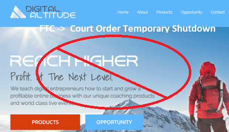 Digital Altitude Internet Business Temporary Shutdown
